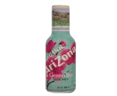 Arizona Green Tea with Ginseng and Honey - 473ml Glass Bottle